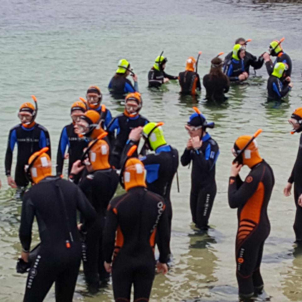 Snorkelling - Scuba Carraroe - An Cheathrú Rua
