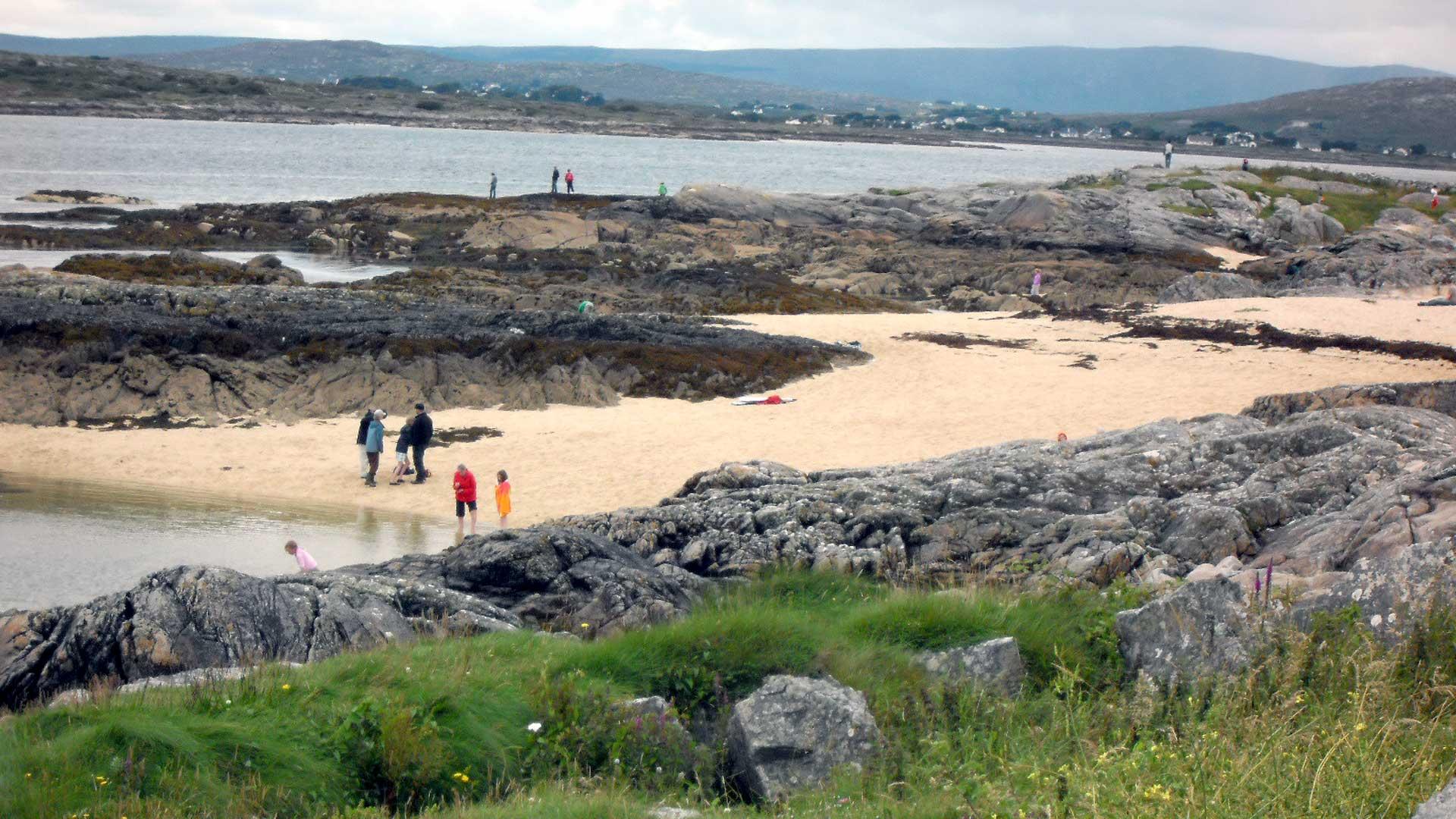 Trá an Dóilín / Coral Beach - Scuba Carraroe - An Cheathrú Rua